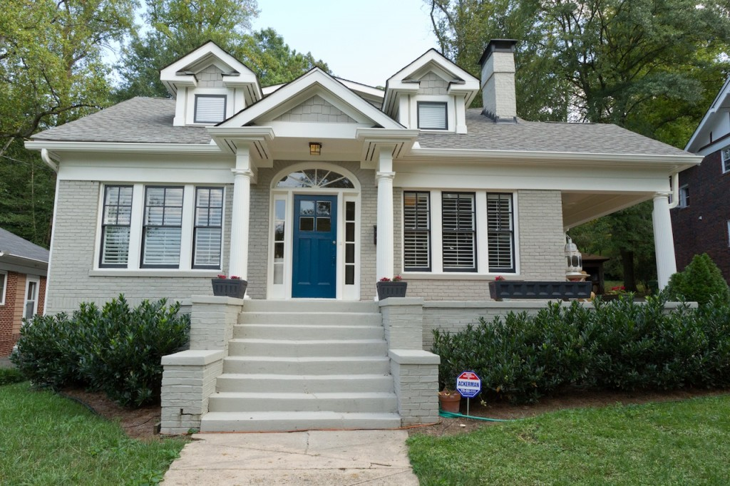 if by blue you mean grey {exterior house paint ideas ... on House Painting Ideas  id=23659