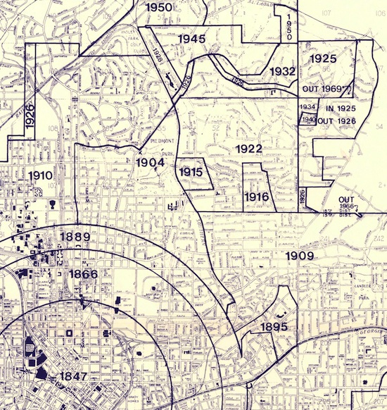Historic Maps VirginiaHighland Civic Association
