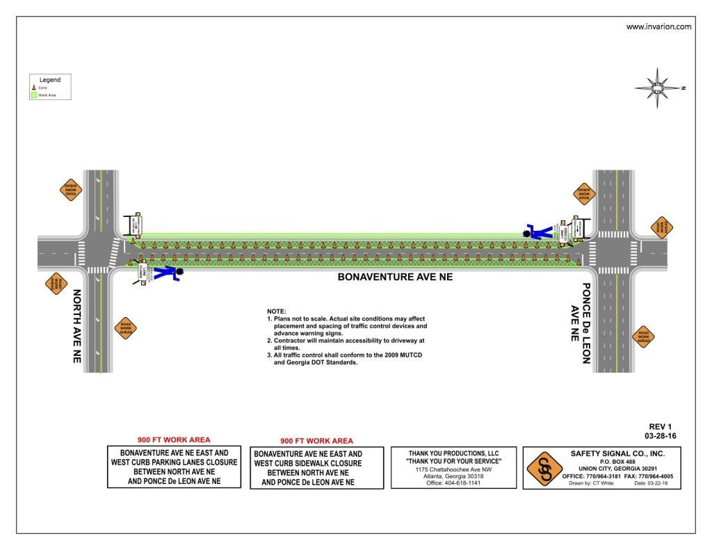 Bonaventure Traffic Plan