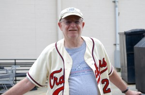 Oreon Mann, son of Earl Mann, who purchased the Atlanta Crackers and the stadium in 1947.