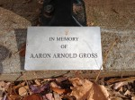 Aaron Gross Memorial Bench