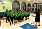 The SPARK Advanced Chorus is directed by Ms. Brianne Turgeon