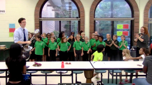Music was provided by the Music@SPARK Advanced Chorus