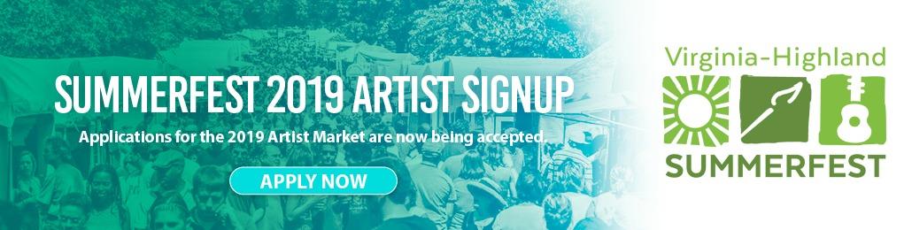 Summerfest Artist Market Signup