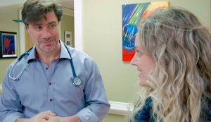 Dr. Beulieu and Amy Hatfield, PA.