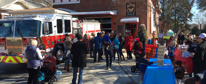 Breakfast with Santa raised a record amount of funds for FS #19! Photo credit Lola Carlisle